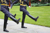 Ideal ceremonial step — Stock Photo