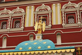 Facade of the orthodox church — Stock Photo