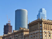 """Buildings of the area """"Moscow City"""" — Foto Stock"""