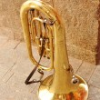 Shine of copper tuba — Stock Photo #7760863
