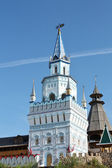 Izmailovo. View of the Kremlin towers — Stock Photo