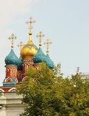 Chiesa ortodossa di mosca — Foto Stock