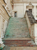Stone staircase, built in the seventeenth century — Stock Photo