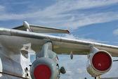Heavy transport aircraft — Stock Photo