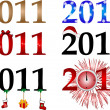 Royalty-Free Stock Imagen vectorial: New year