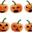 Royalty-Free Stock Vector Image: Pumpkin face