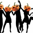 Royalty-Free Stock Vector Image: Party -Halloween