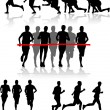 Runners — Stock Vector #7714806