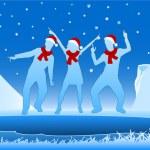 Winter event — Stock Vector