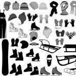 Winter Accessories — Stock Vector #7714841