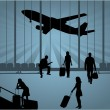 Airport — Stockvector #7714988