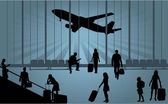 Airport — Stock Vector