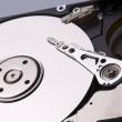 Hard drive inside — Stock Photo