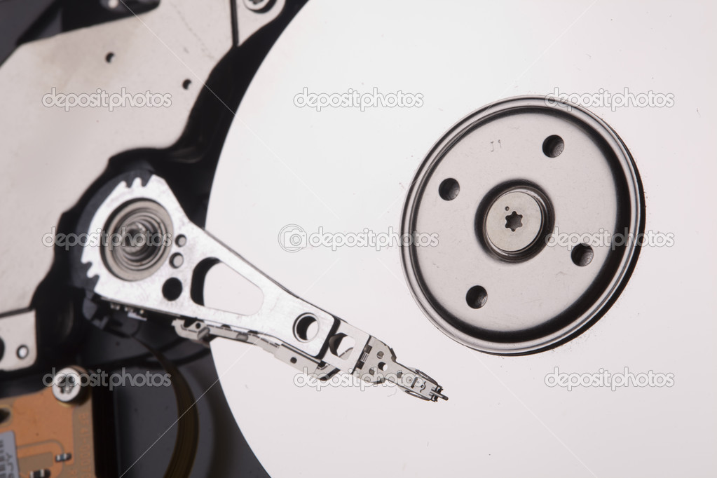 Hard disc inside — Stock Photo #7121221