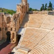 Odeon of Herodes Atticus in Acropolis, Greece — Stock Photo
