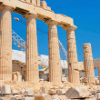 Parthenon of Acropolis in Athens — Stock Photo