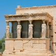The Porch of the Caryatids — Stock Photo