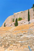 Theatre of Dionysus in Acropolis, Greece — Stock Photo