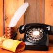 Old Telephone Still Life — Stock Photo