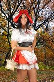 Caperucita roja — Foto de Stock