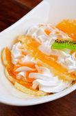 Ice cream dessert — Stock Photo