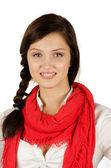 Chica joven estudiante — Foto de Stock
