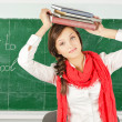 Young student girl — Stock Photo