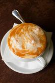 Cappuccino time — Stock Photo