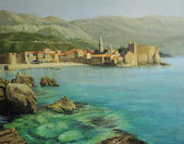 Bay near Old Budva — Stock Photo