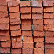 Red brick - Stock Photo