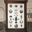 Old electrical board (panel) — Stock Photo