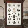 Old electrical board (panel) - Stock Photo