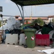 Italian Recycling center (Raee) - Stock Photo