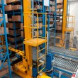 Automated warehouse with robots — Stock Photo #6761997