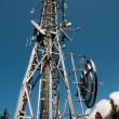 Communication Tower: Gsm, Umts, 3G and radio - Stock Photo
