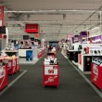 Big electronic retail store — Stock Photo