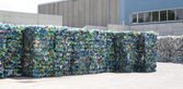 Plastic recycling - waste — Stock Photo