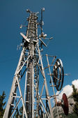 Communication Tower: Gsm, Umts, 3G and radio — Stock Photo