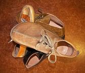 Italian shoes — Stock Photo