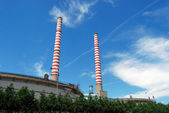 Thermal power station - Coal — Stock Photo