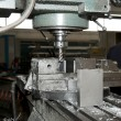 Drilling and milling CNC in workshop — Stock Photo #7062152