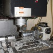 Stock Photo: Drilling and milling CNC in workshop