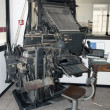 Typecasting machine (Intertype) — Stock Photo