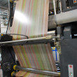 Web (rolls) offset press — Photo