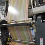 Web (rolls) offset press — Stock Photo #7064514