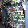 Web (rolls) offset press — 图库照片 #7064546