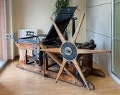 Old offset printing press — Stock Photo