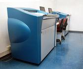 Digitaldruckmaschine drucken - beweise — Stockfoto