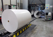 Web (rolls) offset press — Stok fotoğraf