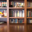 Bookcase and table — Stock Photo #7337848